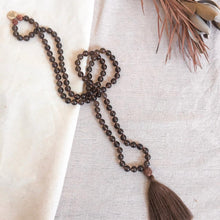 Load image into Gallery viewer, MANIFEST - Smokey Quartz Mala