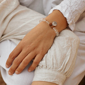 INTENTION - Clear Quartz Bracelet