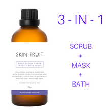 Load image into Gallery viewer, NEW! Body Scrub + Face Mask + Bath Soak