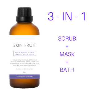 NEW! Body Scrub + Face Mask + Bath Soak