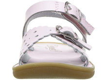 Load image into Gallery viewer, Ariel - Sandal   White, Soft Gold, Rose and Red Apple