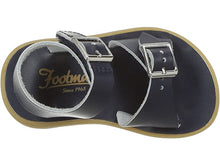 Load image into Gallery viewer, Footmates Tide Sandal in Tan, Taffy & Navy