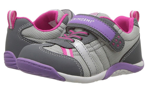 Kaz Gray/Purple    Great shoe option for little ones with AFO'S!