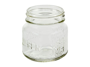 Empty glass replacement jar 3/4 angle