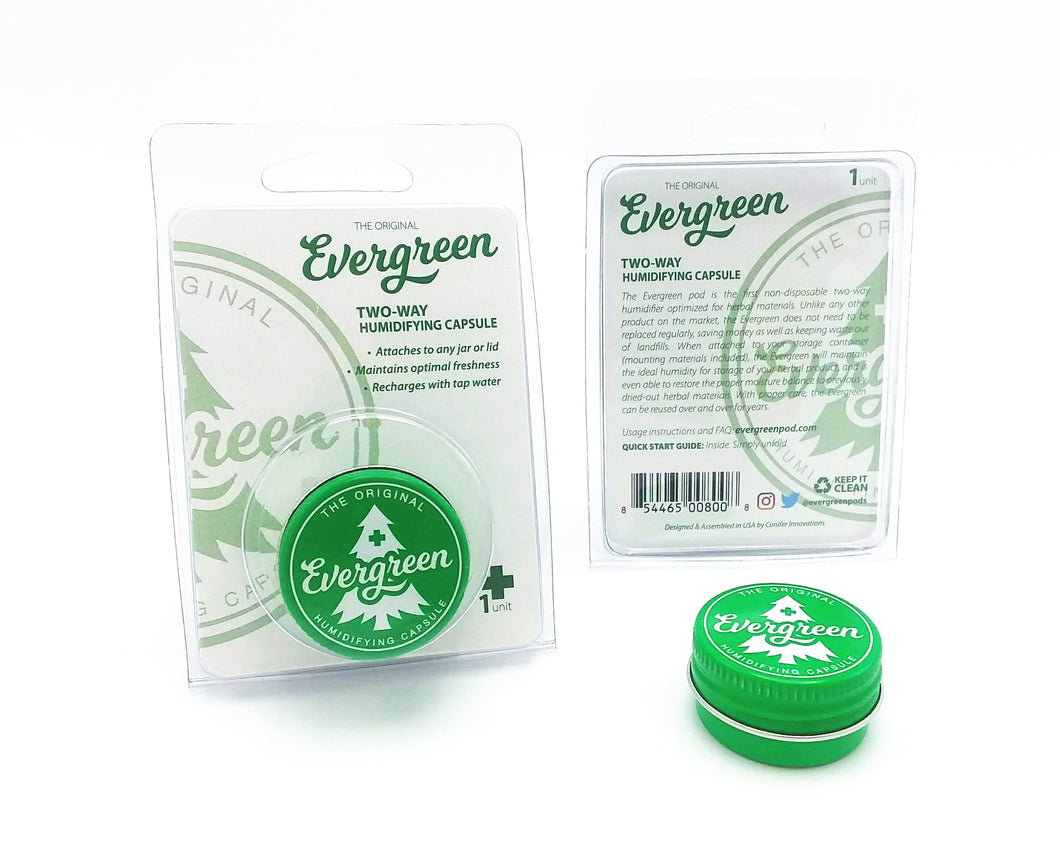 Evergreen Pod - 12 pack
