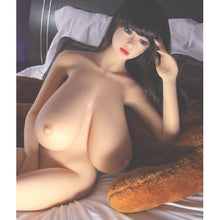 Load image into Gallery viewer, Having a silent Beautiful partner just went up a notch with this Robotic Sex doll.  Luxury at its best and a companion for whenever and wherever you please.  Silk, smooth silicone with a Stainless Steel skeleton. Choose all your individual feature of Hair,Eye Color, Skin color ect to make your very own Dream Girl.  Super Breasts.