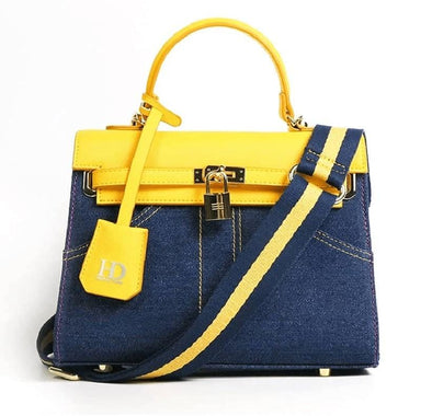 HD Denim Vegan  Casual Handbag