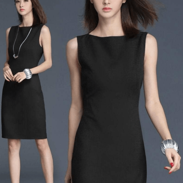 Classic Business as Usual Elegant Dress