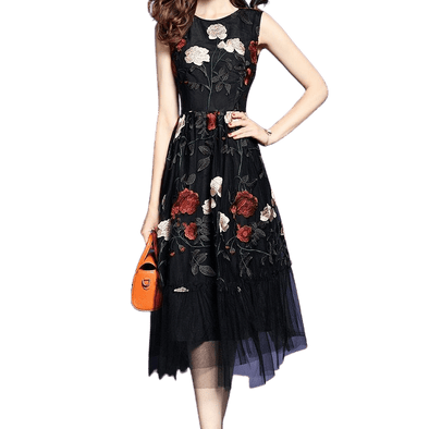 Sophisticated Look with Daisy Floral Dress