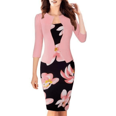 One-piece Bodycon Sheath Dress