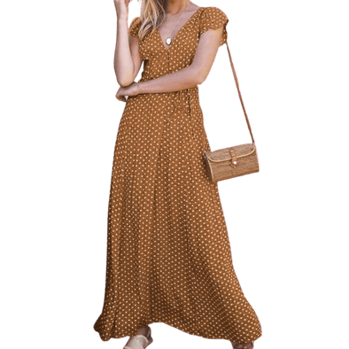 NEW Bohemian Sundress Casual  Plus Size