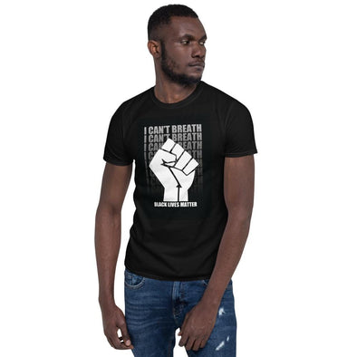 Black Lives Matter Graphics Black TShirt
