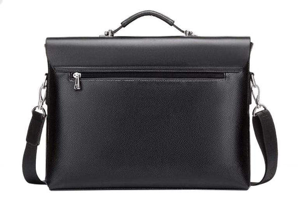 Classic Microfiber Synthetic Leather Business Bag