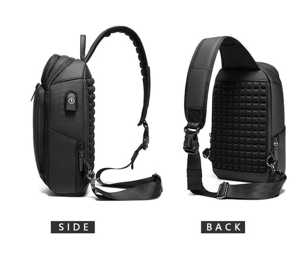 Waterproof Multi-function Anti-theft Crossbody Bag With USB