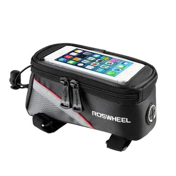 Front Tube-mounted Bike Bag with Secure and Convenient Smartphone Mount