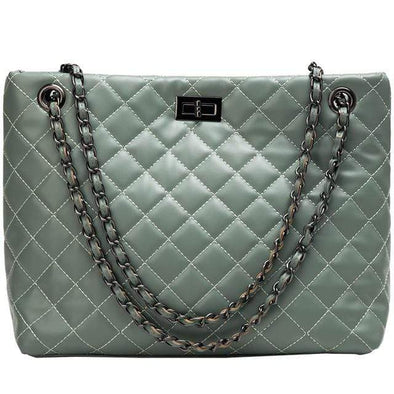 Green Cherry Classic Luxury Shoulder Bag