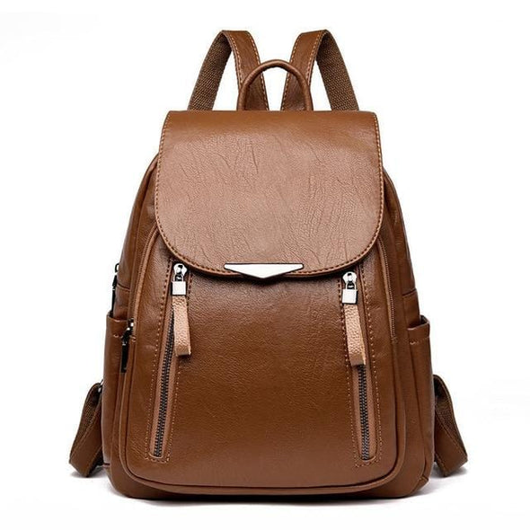 Brown Cassy Hot Casual Backpack
