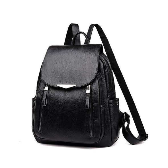 Black Cassy Hot Casual Backpack