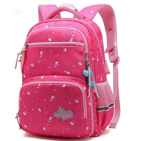 Felicia Printed Waterproof Backpack