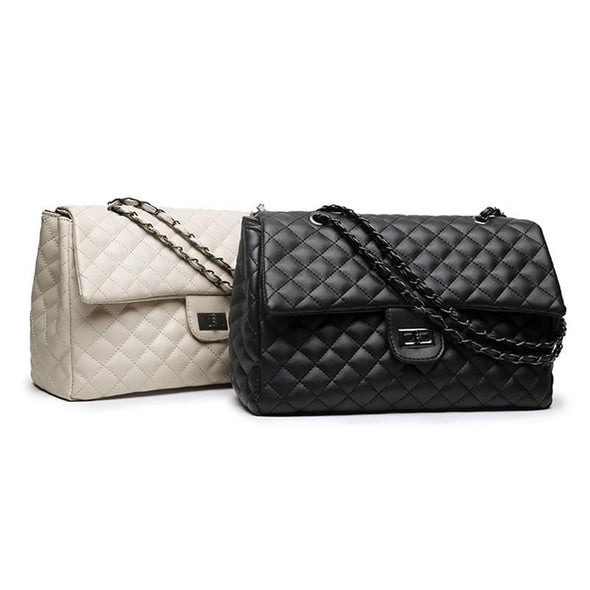 Letty Classic Diamond Lattice Luxury Handbag