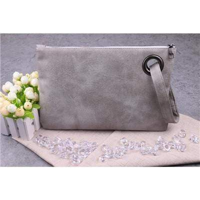 Fashion Women Leather Envelope Bag