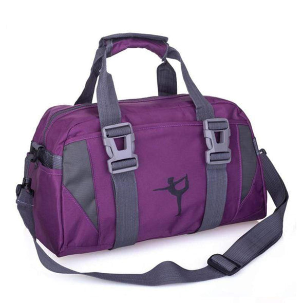 Purple Fitness Gym and Sports Duffle Bag Waterproof