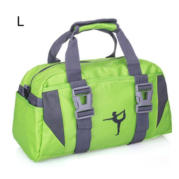 Green Fitness Gym and Sports Duffle Bag Waterproof