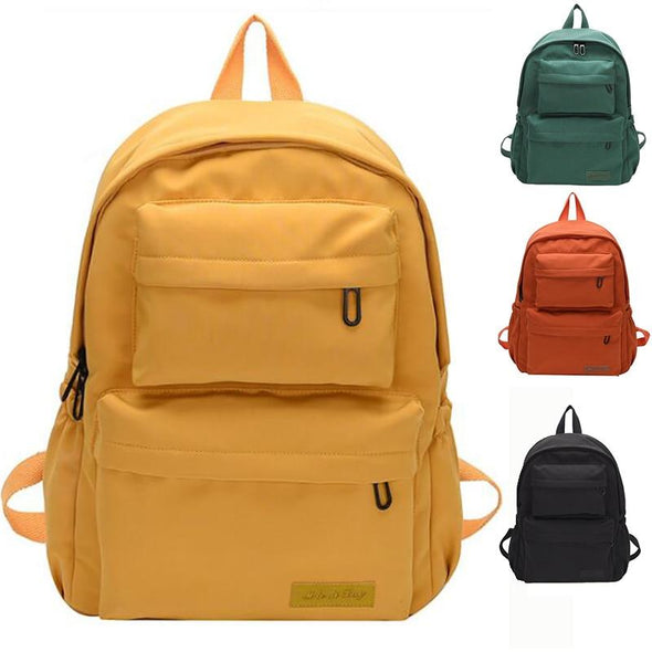 Multi Pocket waterproof nylon backpack
