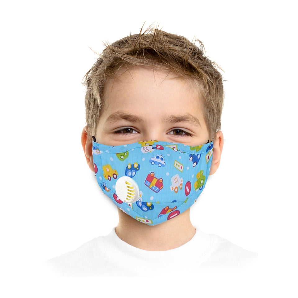Childrens Blue Face Mask