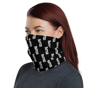 'Up To Us' washable gaiter (b/w)