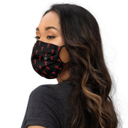 'The Cross' premium washable face mask (r/b)