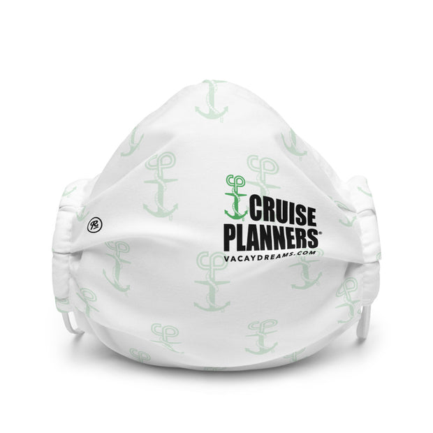 Cruise Planners premium face mask (w)