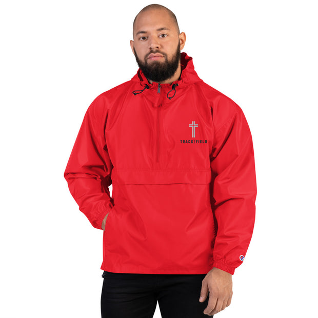AMHS 'Icon' Track x Field Champion® embroidered packable jacket (r)