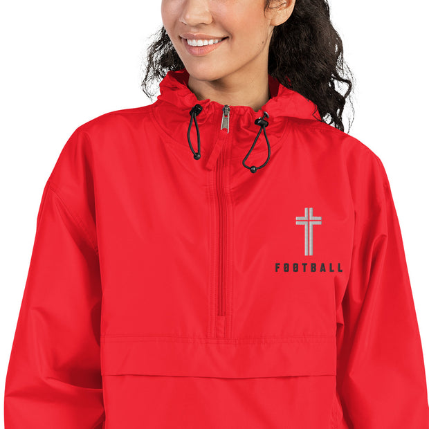 AMHS 'Icon' Football Champion® embroidered packable jacket (r)