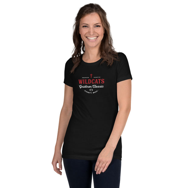 AMHS 'Gridiron Classic' women's slim fit t-shirt