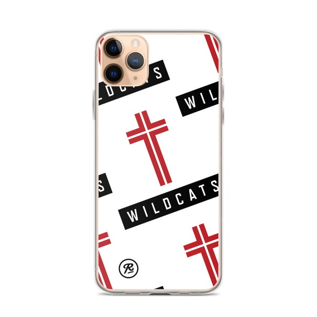AMHS 'Icon' white iPhone case