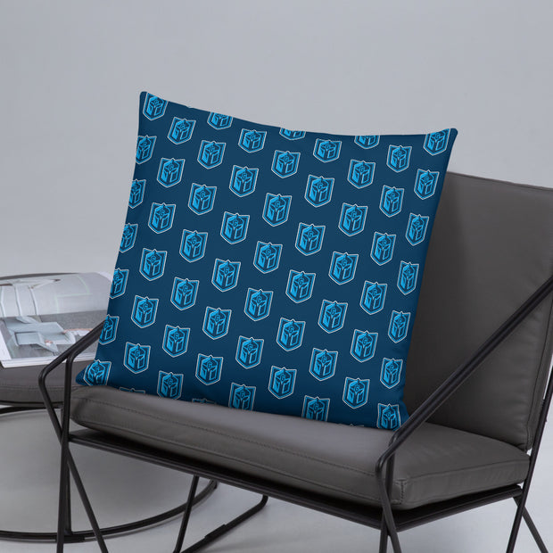 Gateway Guardians blue pattern basic pillow