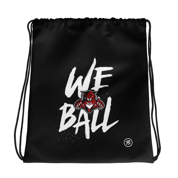 JWB 'We Ball' black cinch bag