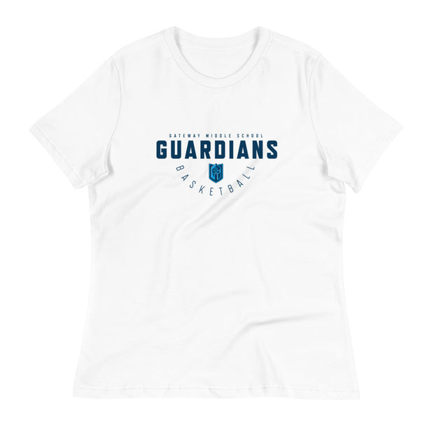 Gateway 'Hoops Classic' women's relaxed t-shirt