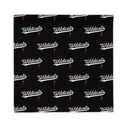 AMHS 'VNTG ATHL' black pillow case