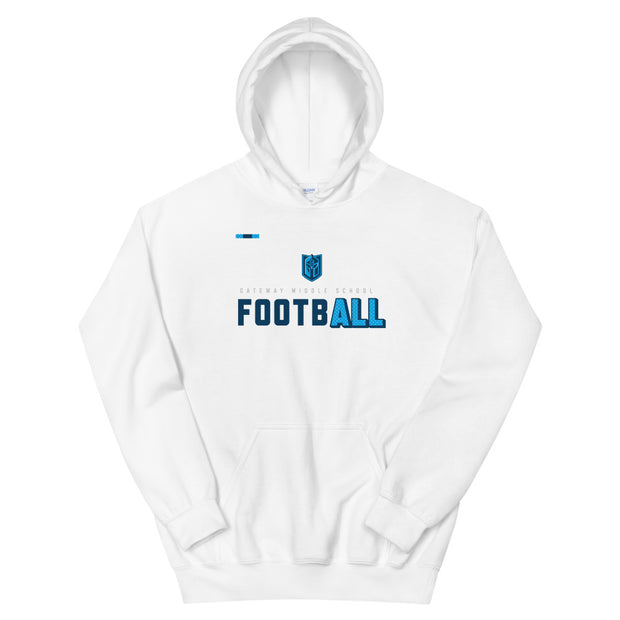 Gateway 'Football for All' hoodie