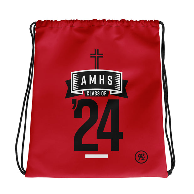 AMHS 'Class of '24' cinch bag (r)