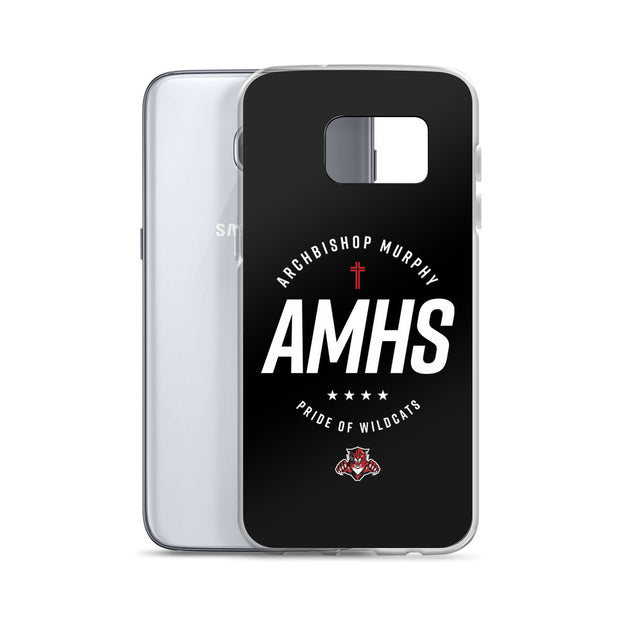 AMHS 'Excellence' black Samsung case