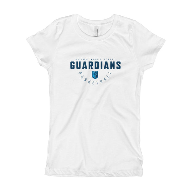 Gateway 'Hoops Classic' girls slim fit t-shirt