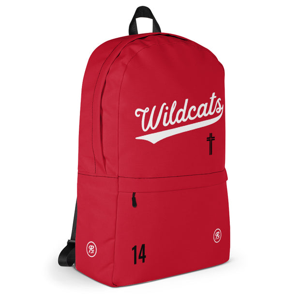 AMHS 'VNTG ATHL' customizable medium-sized backpack (r/w)