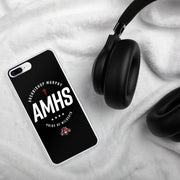 AMHS 'Excellence' black iPhone case