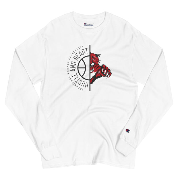 AMHS 'Hustle & Heart' Wildcat Champion® l/s shirt