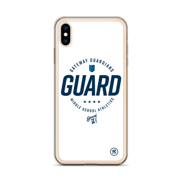 Gateway 'Excellence' white iPhone case