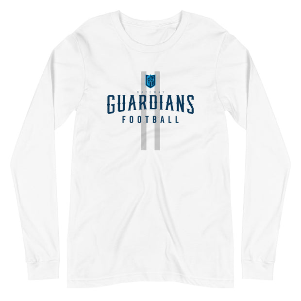 Gateway 'Royalty' Football l/s t-shirt