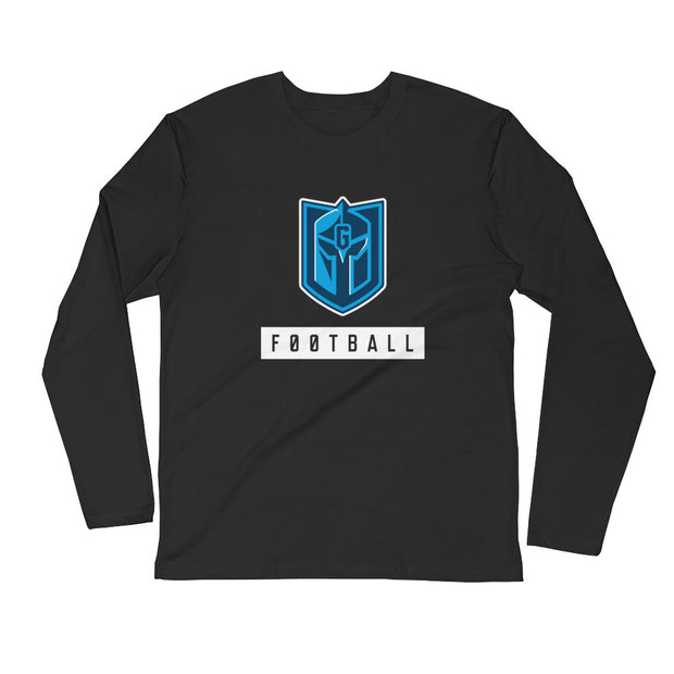 Gateway 'Icon' Football l/s fitted crew